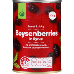 Photo of WW Boysenberries In Syrup 425g