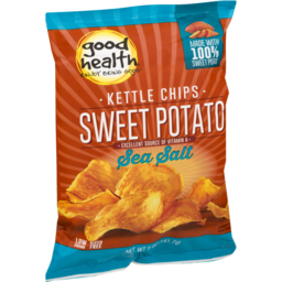 Photo of Good Health Kettle Chips Sweet Potato Sea Salt