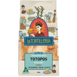 Photo of La Tortilleria Blue Totopos 200gm (8)