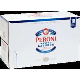 Photo of Peroni Nastro Azzuro Premium Beer 18pk