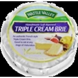 Photo of Wattle Valley Triple Cream Brie 180gm