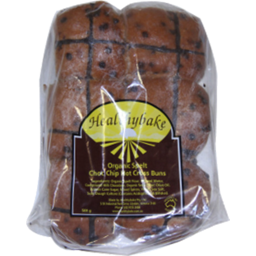 Photo of Easter Healthybake Spelt And Chocolate Hot Cross Buns 500gm
