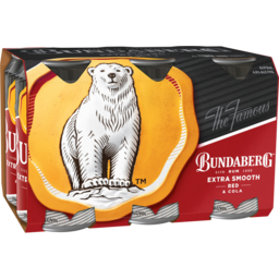 Photo of Bundaberg Red & Cola Cans