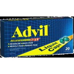 Photo of Advil Liquid Caps 20