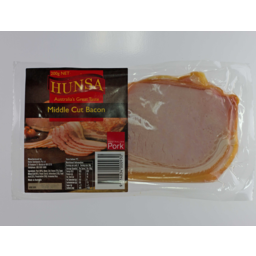 Photo of Hunsa Middle Cut Bacon 200gm