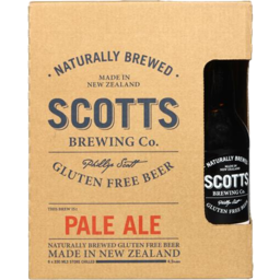 Photo of Scotts Pale Ale Gluten Free 6 x 330ml Pack