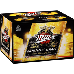 Photo of Miller Genuine Draft 330ml 24 Pack