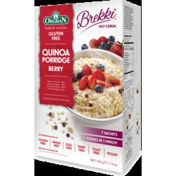 Photo of Orgran Gluten Free & Dairy Free Quinoa Porridge Berry 210g