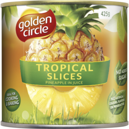 Photo of Golden Circle® Tropical Pineapple Slices In Juice 425g