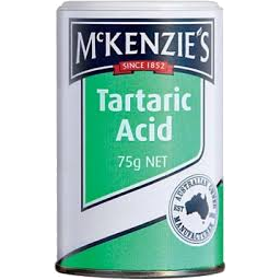 Photo of Mackenzies Tartaric Acid 75gm