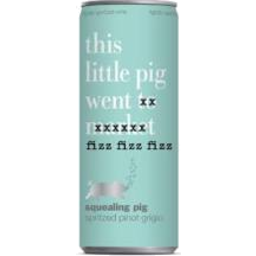 Photo of Squealing Pig Spritzed Pinot Grigio 250ml 24 Pack