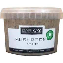Photo of Darikay Mushroom Soup 550g