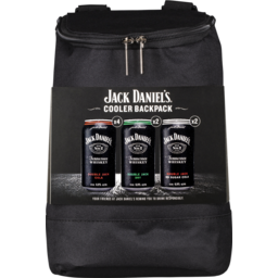 Photo of Jack Daniel Double Jack Mixed 8pk Cooler Backpack Can