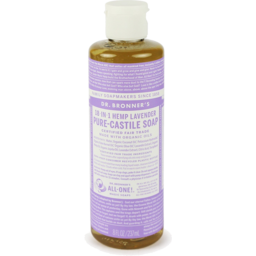 Photo of Dr. Bronner's Liquid Soap - Pure Castile (Lavender)