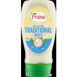 Photo of Praise Creamy Mayonnaise 97% Fat Free 410g
