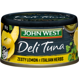 Photo of John West Deli Tuna Zesty Lemon And Herbs 90g