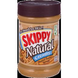 Photo of Skippy Natural Creamy Peanut Butter Spread
