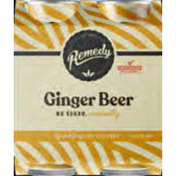 Photo of Remedy Ginger Beer 250ml 4pk