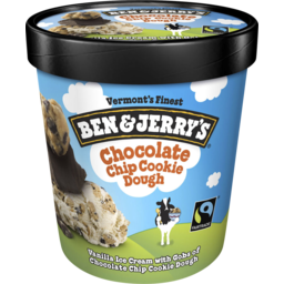 Photo of Ben And Jerry's Ben & Jerry's Ice Cream Chocolate Chip Cookie Dough 458ml