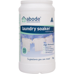 Photo of Abode Laundry Soaker - High Performance 1kg