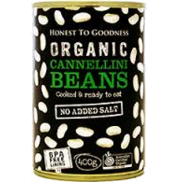 Photo of Honest To Goodness Organic Cannellini Beans 400gm