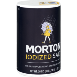 Photo of Morton Iodized Salt