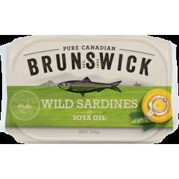Photo of Brunswick Sardines in Soy Oil 106g