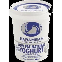 Photo of Barambah Yoghurt 99% Low Fat 500g
