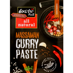 Photo of Exotic Food All Natural Cooking Sauce Massaman Curry Paste 50g