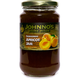 Photo of Johnno's Home Made Apricot Jam 450gm