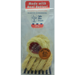 Photo of Coffee Table Biscuit Raspberry Shortcake (120g)