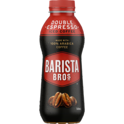 Photo of Barista Bros Double Espresso Flavoured Milk 500ml
