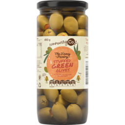Photo of Community Co Stuffed Green Olives 450g