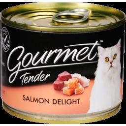 Photo of Gourmet Cat Food Tender Salmon 185g