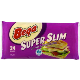 Photo of Bega Super Slim Iws Cheese Slices 24pk 500g Portrait