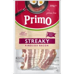 Photo of Primo Streaky Bacon 200g