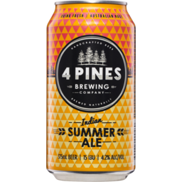 Photo of 4 Pines Summer Can 375ml
