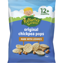 Photo of Rafferty's Garden Original Chickpea Pops 17g