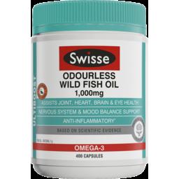 Photo of Swisse Ultiboost Wild Odourless Fish Oil 400x
