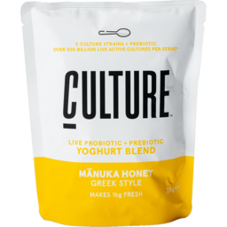 Photo of Culture Manuka Honey Greek Style Yoghurt Mix 215g