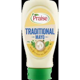 Photo of Praise Traditional Mayo 490g