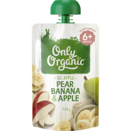 Photo of Only Org Ban Pear Appl #120gm