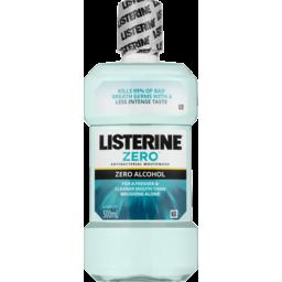 Photo of Listerine Zero Mouthwash Zero Alcohol 500ml