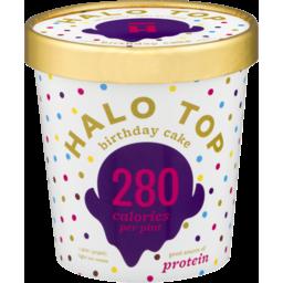 Photo of Halo Top Birthday Cake Ice Cream 473ml