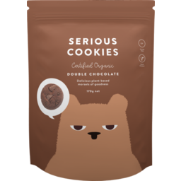 Photo of Serious Food Co Double Choc Cookies