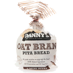 Photo of Dannys Pita Mini Oat Bran 8 320g