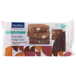 Photo of Pavillion Foods Gluten Free Chocolate Fudge Slice 330g