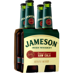 Photo of Jameson Irish Whiskey & Raw Cola Stubbies