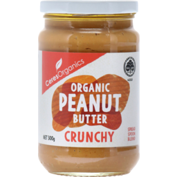Photo of Ceres Organics P/Nutbutter Crunch 300g