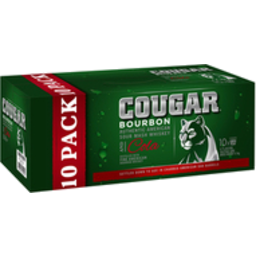 Photo of Cougar & Cola Can 375ml 3x10 Pack